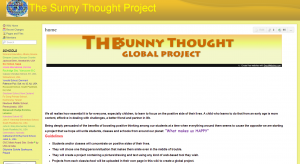 The Sunny Thought Project - home